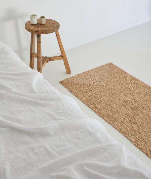 jute tæppe i 140x60